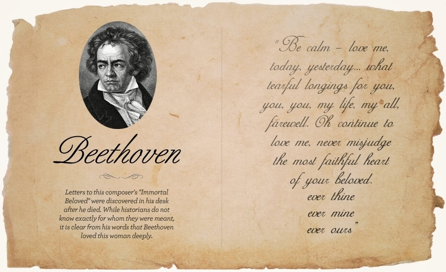 Beethoven-letter 10 Secrets you'd never find out unless you read this