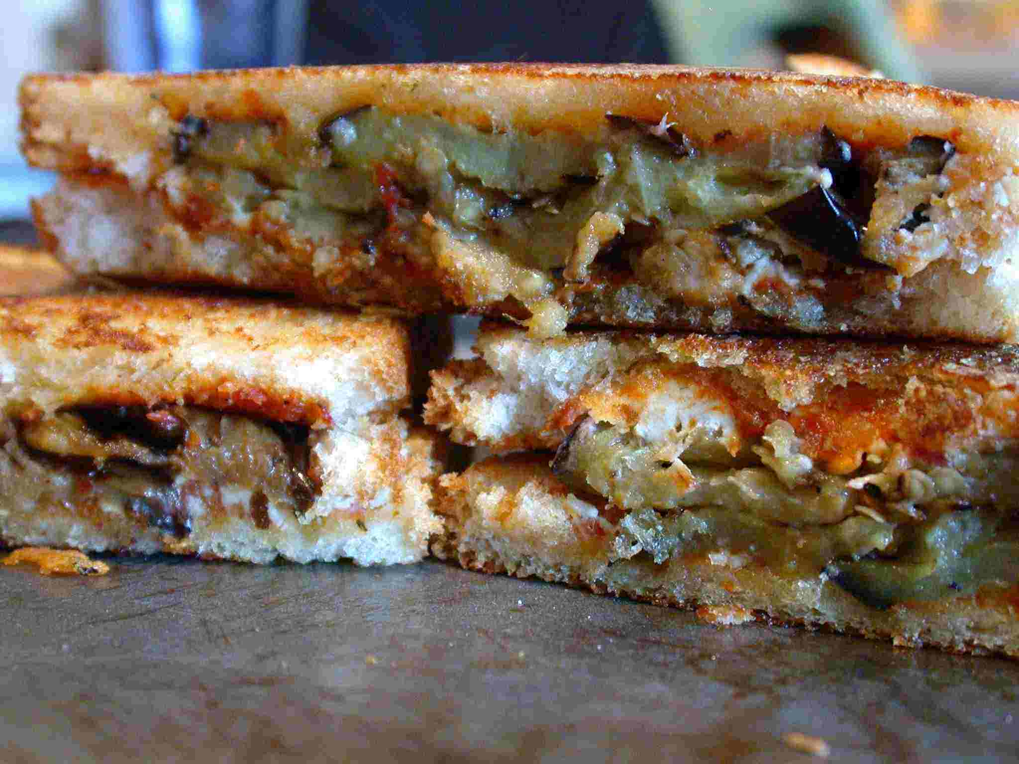 10KeyThings-Eggplant-and-goat-cheese-sandwiches Quick Vegan foods