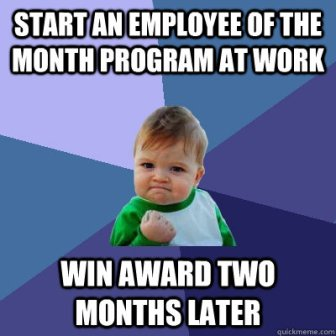 10KeyThings-Keep-Patience Be the employee of the month, every month!