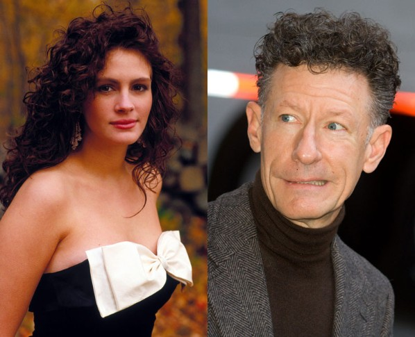Julia-Roberts-and-Lyle-Lovett Why a 10-er lady gets with a 5-er man