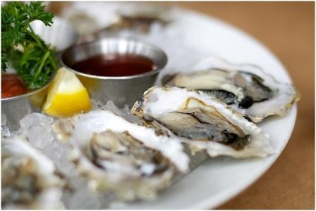 Oysters What you eat is how you perform: Part 1