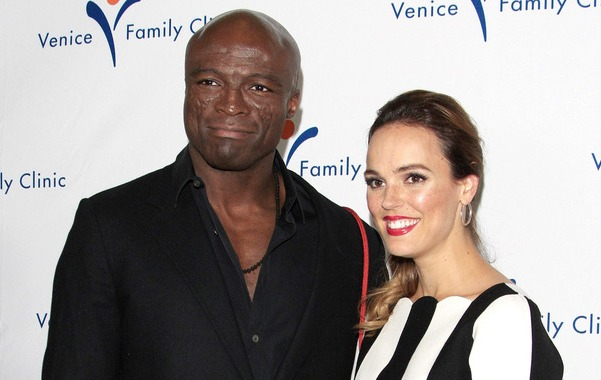 Seal-and-Erin-Cahill Why a 10-er lady gets with a 5-er man