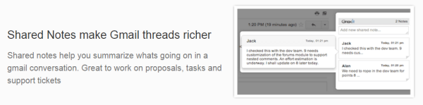 Hiver-shared-notes 10 Key Things about Hiver - Turn Gmail into a Powerful Collaboration tool